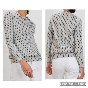 THE KIT Women's RUMI Sweatshirt Gray Cubes